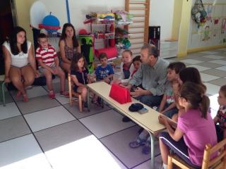 Los niños, entrevistadores por un día