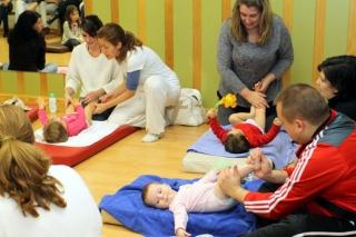 El taller de masajes para bebes