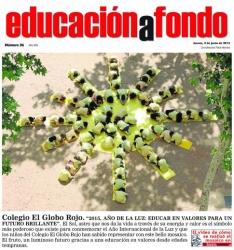 El Globo Rojo en Educación a Fondo, publicado en La Gaceta de Salamanca