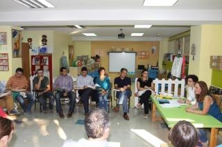 Las familias de los Rojos I tienen la primera reunión del curso