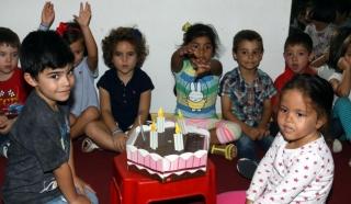 Cumpleaños con los amigos del cole