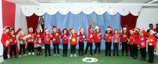 """""""Llega Navidad"""" Rojos de 4 años"""
