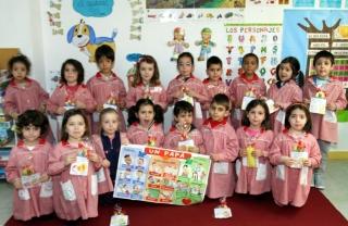 Los alumnos de El Globo Rojo dedican una fecilitación especial
