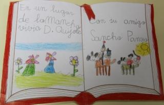Los alumnos de El Globo Rojo rinden homenaje al Libro