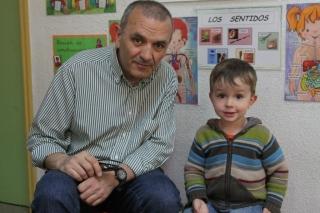 Dani Pedrosa, un niño de 3 años muy maduro, también quiere ser piloto, como su famoso homónimo