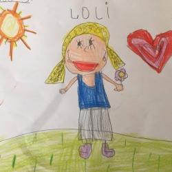 """Loli Mateos: """"ilusionamos a los niños para lo que van a vivir"""""""