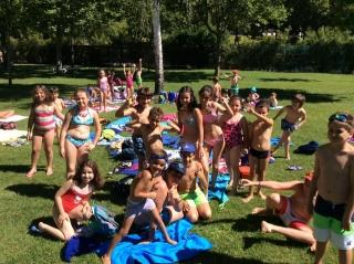 ¡¡¡...y los viernes a la piscina!!!