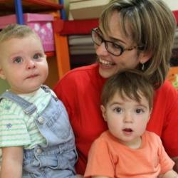 """Esther Gómez: """"Desde que soy madre, comprendo mucho mejor a las familias"""""""