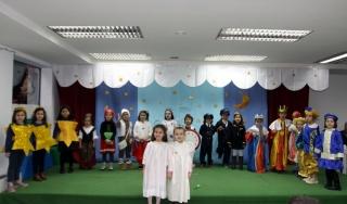Estelar y animada Fiesta de Navidad en El Globo Rojo