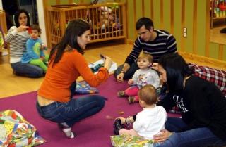 Siguen los talleres de música para bebés