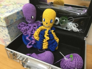 Este jueves, taller de crochet
