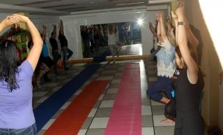 GloboFiesta 2017: Sesión de yoga para padres y madres
