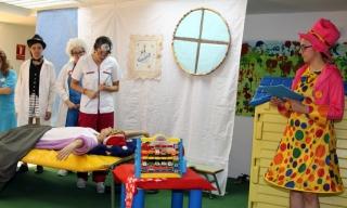 Alumnas del IEA nos representan una obra de teatro infantil