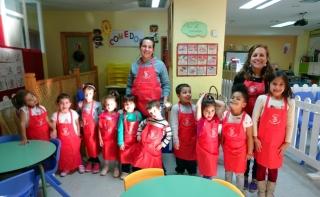 Aprendemos a hacer compota de manzana