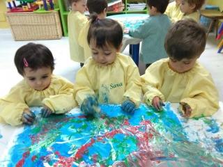Descubriendo y mezclando colores