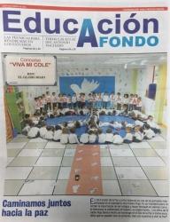 Hoy en la portada de Educación A Fondo de La Gaceta de Salamanca