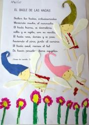 Recreamos la Primavera ilustrando poesías con personajes de hadas y de cuentos