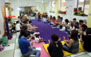 Taller de música para bebés y familias