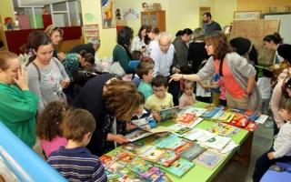 Feria del libro en El Globo Rojo