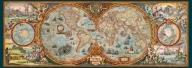 Puzzle 6000 piezas Mapa de hemisferios