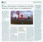 """10.01.2013: PROTON ELECTRONICA ecodiseña las farolas """"bola de cristal"""" para su rehabilitación."""