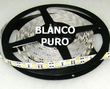 TIRA INTERIORES LED 5m 72W Blanco Puro
