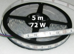 TIRAS FLEXIBLES LED 5m 72W