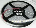 TIRA TUBO DE SILICONA LED 5m 72W Blanco Puro