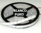 TIRA TUBO DE SILICONA LED 5m 36W Blanco Puro