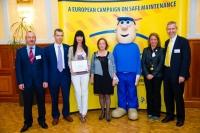 28.04.2011: PROTON ELECTRONICA  Premio Europeo de Buenas Prácticas a una empresa  vasca de 7 empleados.
