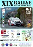 XIX Rally Diputación de Avila – Trofeo Cerverauto. 6-7 Octubre