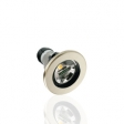 ARO/DOWNLIGHT GU10 DORADO OSCILABLE