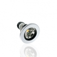 ARO/DOWNLIGHT GU10 PLATEADO OSCILABLE