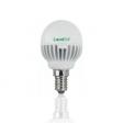 LED Esférico 4W E14 3000K 25.000hrs