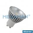 MEGAMAN LED 6W 35º Dimmer GU10 4000K 25.000Hrs