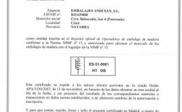 FABRICACIÓN NIMF-15