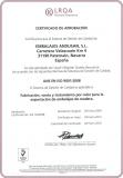 CERTIFICADO CALIDAD ISO 9001-2008