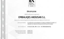CERTIFICADO CALIDAD ISO 9001-2015