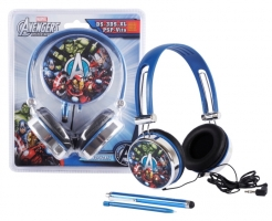 Auriculares + Stylus (DS y PSP) Avengers