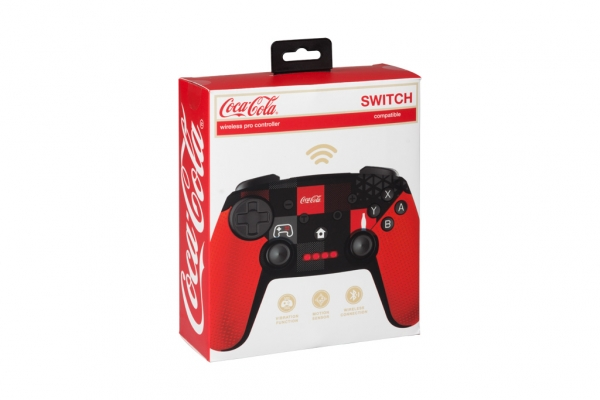 Mando Pro Wireless Switch Coca- Cola