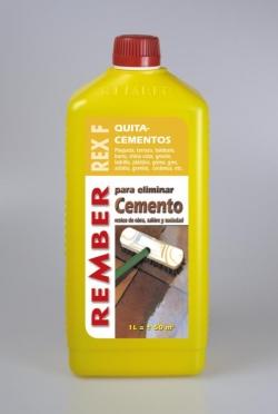 Productos de limpieza para eliminar cemento rember for Productos para eliminar pececillos de plata