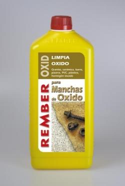 Productos de limpieza de manchas de oxido