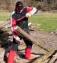 Gancho recoge troncos de 70 cm