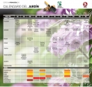 Calendario de jardín