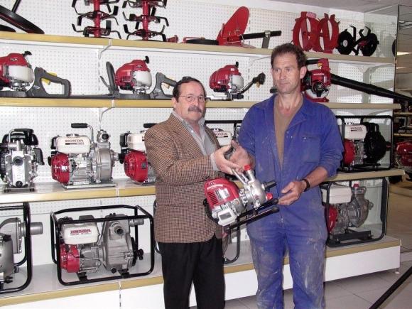 """Premiado en el segundo sorteo de la """"Campaña de motoazadas 2011"""""""
