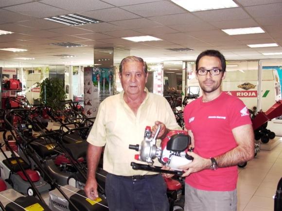 """Premiado en el cuarto sorteo de la """"Campaña de motoazadas 2011"""""""