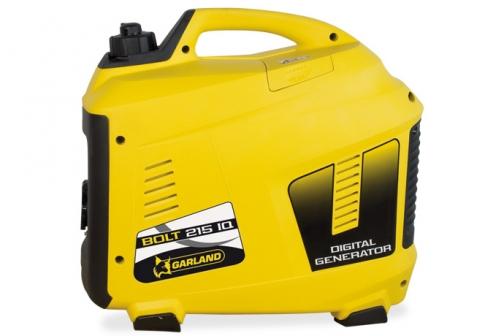 Generador portátil insonorizado inverter Garland BOLT 215 IQ