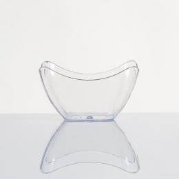 Recipiente de plástico BOWL cuadrado desechable degustación aperitivos fiestas y eventos