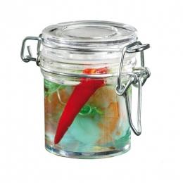 Mini bote hermético para presentaciones de catering y degustaciones