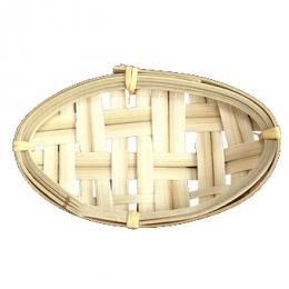 Panera mini ovalada de bambú serie NIPÓN catering service y hostelería